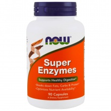 NOW Super Enzymes Capsules 90 tabs